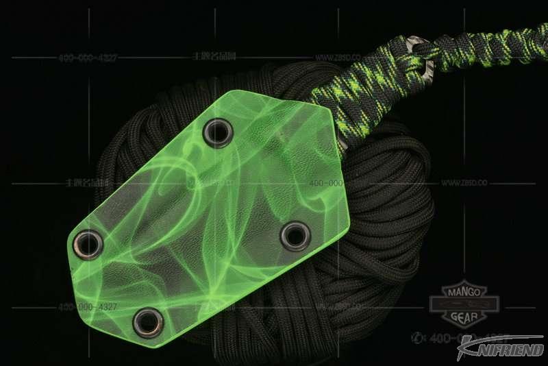 Messori Knife 意大利兰博基尼设计师 迈索瑞 #12号 一体式龙骨 迷彩伞绳缠绕柄 小直 (5).jpg