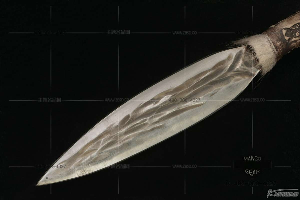 圆头 黑柄印第安风传统猎矛 (2).jpg