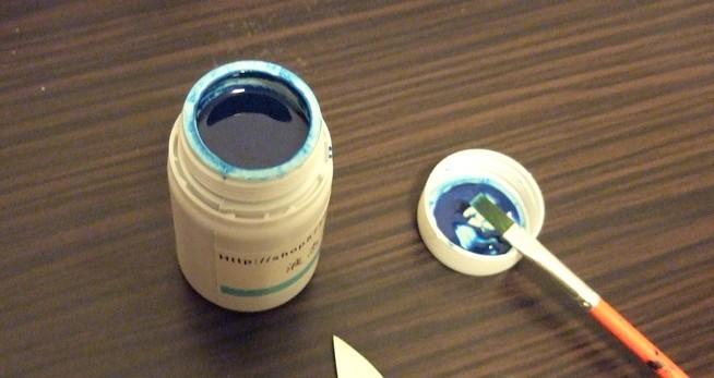 感光蓝油墨和油画笔.jpg